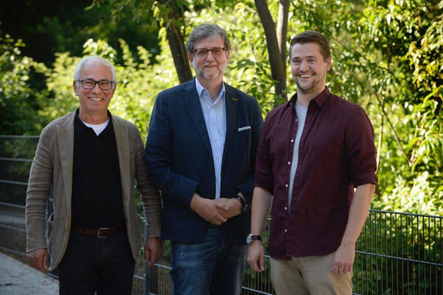 Die Vohwinkeler SPD-Ratskandidaten zur Kommunalwahl 2020 (Arif Izgi, Heiner Fragemann, Alexander Hobusch)