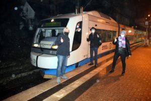 Ankunft der ersten S28 in Wuppertal-Vohwinkel